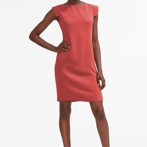 NWT MM Lafleur Sarah 7.0 Dress 10 Pomegranate